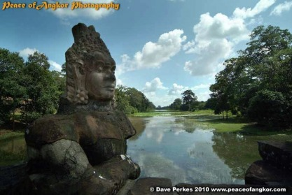 The Moat of Angkor Thom