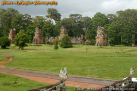 Angkor thom Plaza and the Prasat Sour Prat
